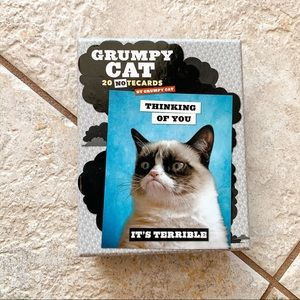 Grumpy Cat Notecards stationary 17 cards